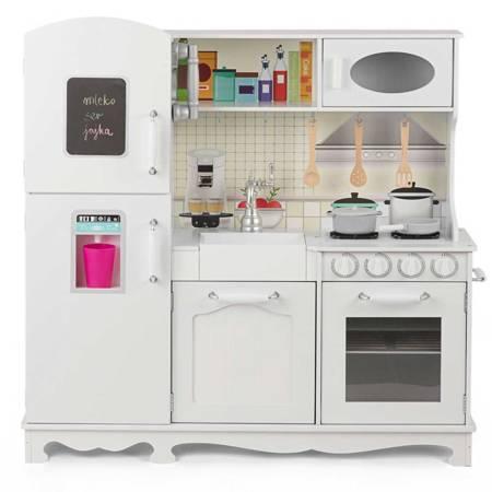 Wielka Drewniana Kuchnia Dla Dzieci  Retro Deluxe + Akcesoria