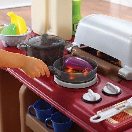 Wielka Kuchnia DeLuxe z Grillem Step2 821400 Światło Dźwięk i akcesoria