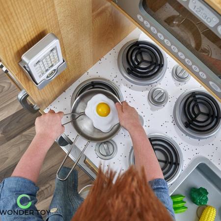 Wielka Naturalna Kuchnia Uptown Silver Kidkraft 53298