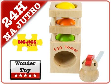 Wieża Kurki - Przybijanka Bigjigs BJ647