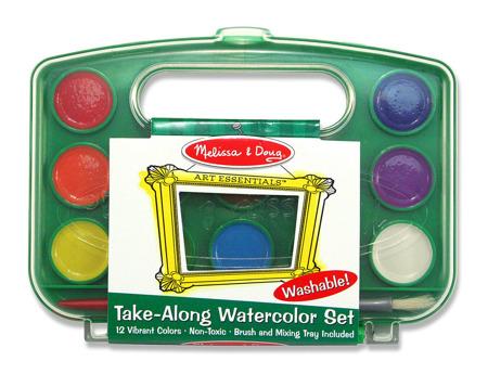 Zestaw 12 Farb Akwarelowych  Melissa and Doug 14114