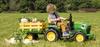 PEG PEREGO Traktor Elektyczny  John Deere  z Przyczepą